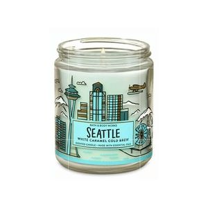 Seattle CIty Scents Jar Candle